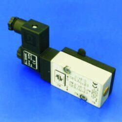 MNF532                                                                          -NAMUR ventil  elektropneumatický univerzální 5/2 a 3/2 cestný DN5,5, G1/4, 24V AC, 5VA, IP 65, 2-10 bar, 950l/min