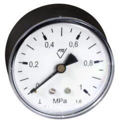 03358 - AZ-Standardní tlakoměr se zadním přípojem. 03358 - AZ M12x1,5