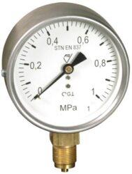 13312 - V-Standardní tlakoměr se spodním přípojem (vodotěsný). 13312 - V M20x1,5
