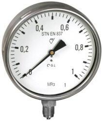 13333 - S-Standardní tlakoměr se spodním přípojem. 13333 - S M20x1,5