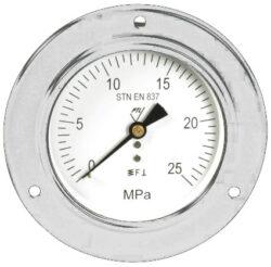 03342                                                                           -Standardní tlakoměr se zadním přípojem, přední přírubou. 03342 M20x1,5