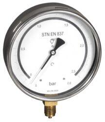 03402                                                                           -Kontrolní tlakoměr se spodním přípojem. 03402  M20x1,5