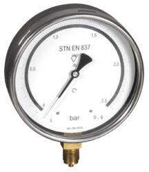 03413-Etalonový tlakoměr se spodním přípojem. 03413 M20x1,5