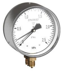 03353 - S-Diferenční tlakoměr se dvěma přípoji za sebou. 03353 - S 2xM20x1,5