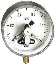03370                                                                           -Kontaktní tlakoměr se spodním přípojem. 03370 M20x1,5