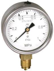 03384 - G                                                                       -Glycerinový tlakoměr se spodním přípojem. 03384 - G  M20x1,5