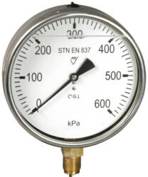 03313 - G                                                                       -Glycerinový tlakoměr se spodním přípojem. 03313 - G M20x1,5