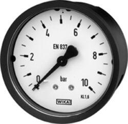 111.12.63-Standardní tlakoměr se zadním přípojem. 111.12.63  M12x1,5