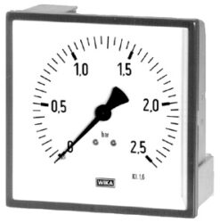 214.11-Standardní tlakoměr profilový. 214.11