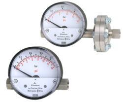 700.01.080-Diferenční tlakoměr s magnetickým pístem a tlakovou pružinou. 700.01.080