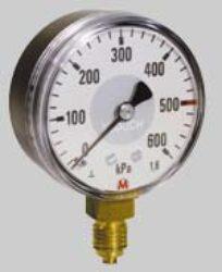 MM40S/112/1,6-Standardní tlakoměr se spodním přípojem. MM40S/112/1,6