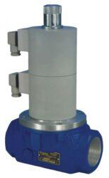 Bezpečnostní ventily pro plyn-Bezpečnostní  dvoustupňový ventily / uzávěry pro plyn,typová řada ZED, závitoové připojení: Rp3/4 -2 1/2 , přírubové připojení: DN-50 až 100. Ventily jsou v základní poloze bez napětí UZAVŘENY (NC) . Pracovní přetlak:  0 - 0,25 bar. Jedná se o dvoustupňový automatický dvoupolohový ventil , který je určený pro hořáky a spotřebiče napájené nízkotlakým plynem.