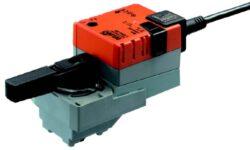 LR / LRD24ALON-LonWorks pohony pro regulační kulové kohouty, spojité -typové řady LR / LRD24ALON.
