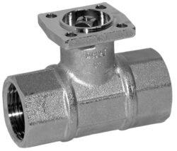2cestné uzavírací 130°C - otevřeno-zavřeno-2cestné uzavírací kulové kohouty se servopohonem Belimo typové řady: TR.. AC/DC 24 V.