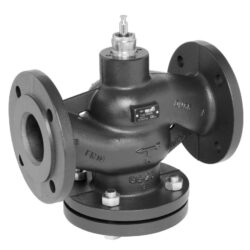 Přírubový PN 16, DN 15-150 - spojitý, MFT-Přírubový ventil PN 16 do 120°C; do 150°C, DN 15-150 se servopohonem Belimo, typová řada: NV..., AV... AC/DC 24 V.