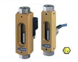 KSR, SVN-Sledovač průtoku s pevně nastaveným bodem sepnutí typové řady KSR/SVN. Plováčkový -  malé množství - spínač.