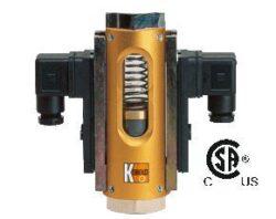 VKG-Průtokoměr / -spínač s kompenzací viskozitytypové řady VKG.