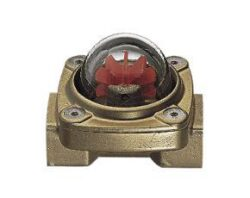 DKF-Indikátor průtoku s lopatkovým kolem typové řady DKF