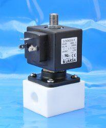 DL4T-2/2 elektromagnetický ventil-přímo ovládaný DN4; 24V DC,G1/4,0-1,5bar,NC,Tmax.+75°C medium dokonale odděleno od jádra a vedení ventilu konektor není součástí balení ventilu