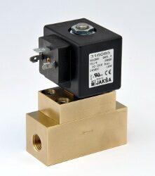 XBS2NO-2/2 elektromagnetický ventil  DN5, 24V DC, G1/4, 10-200 bar,NO,Tmax.75°C konektor není součástí balení ventilu