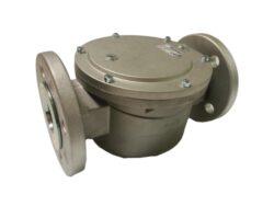 FG6-6A/FLF50, DN50-přírubové připojení PN16, Pmax.6 bar, filtrační vložka PPR tkanina 5µm, medium-zemní plyn,vzduch. Filtry typu FG jsou vyráběny v souladu s normami DIN 3386.