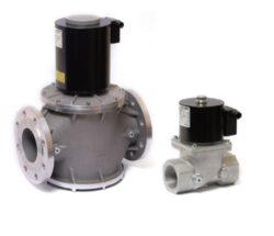 VMR-bezpečnostní elektromagnetický ventil pro plyn dle EN 161, bez proudu uzavřen s rychlým otevíráním a zavíráním. pro rozvody plynu nebo vzduchu do atmosferických hořáků, do pecí a dalších technologií využívajících plyn jako palivo